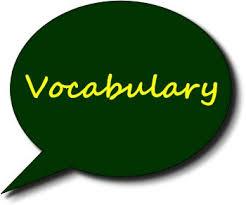 Environmental vocabulary